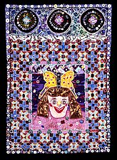 Inner Child: Heather by Therese May (Fiber Wall Hanging)