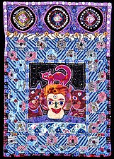 Inner Child: Melinda by Therese May (Fiber Wall Hanging)