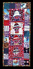 I Am Who I Am by Therese May (Fiber Wall Hanging)