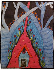 Sweet Home Sweet by Therese May (Fiber Wall Hanging)