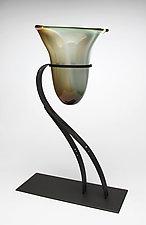 Earth Vessel by Janet Nicholson and Rick Nicholson (Art Glass Sculpture)