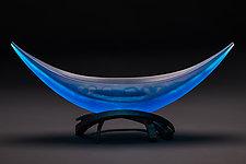 Archer by Brian Russell (Art Glass Sculpture)