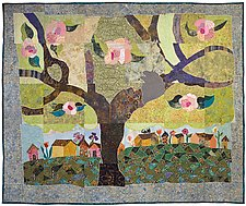 Big Tree by Therese May (Fiber Wall Hanging)