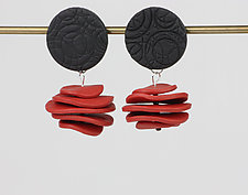 Josephine Earring by Klara Borbas (Polymer Clay Earrings)