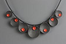 Ella Necklace by Klara Borbas (Polymer Clay Necklace)