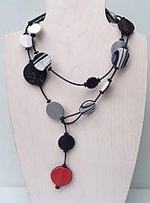 Sabrina Necklace by Klara Borbas (Polymer Clay Necklace)