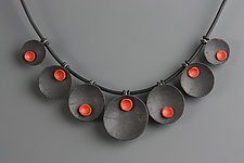 Ella Necklace by Klara Borbas (Polymer Clay Necklace)