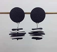 Sara Earring by Klara Borbas (Polymer Clay Earrings)