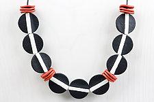 Vera Versatile Necklace by Klara Borbas (Polymer Clay Necklace)