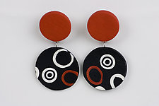 Sandra Earring by Klara Borbas (Polymer Clay Earrings)