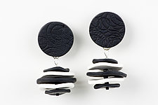 Sara Earring by Klara Borbas (Polymer Clay Earrings)