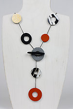 Versatile Nikki Necklace by Klara Borbas (Polymer Clay Necklace)