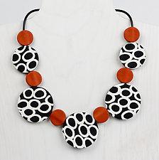 Nina Necklace by Klara Borbas (Polymer Clay Necklace)