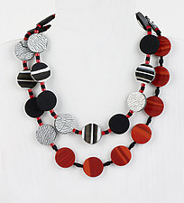 Paulina Necklace by Klara Borbas (Polymer Clay Necklace)