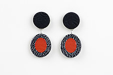 Edith Earring by Klara Borbas (Polymer Clay Earrings)