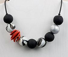 Diana Necklace by Klara Borbas (Polymer Clay Necklace)