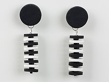 Bettina Earring by Klara Borbas (Polymer Clay Earrings)