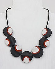 Susan Necklace by Klara Borbas (Polymer Clay Necklace)