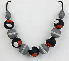 Alana Necklace by Klara Borbas (Polymer Clay Necklace)