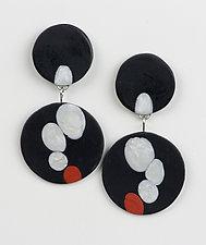 Krista Earrings by Klara Borbas (Polymer Clay Earrings)