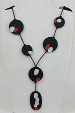 Krista Necklace by Klara Borbas (Polymer Clay Necklace)