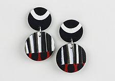 Poppy Earring by Klara Borbas (Polymer Clay Earrings)