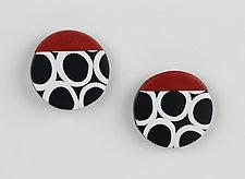 Kiera Earrings by Klara Borbas (Polymer Clay Earrings)