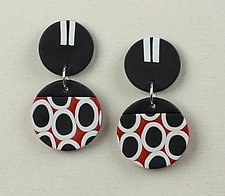Carol Earrings by Klara Borbas (Polymer Clay Earrings)
