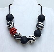 Sandakan Necklace II by Klara Borbas (Polymer Clay Necklace)