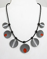 Becky Necklace by Klara Borbas (Polymer Clay Necklace)