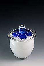 Mon Flower Vases by Richard S. Jones (Art Glass Vases)