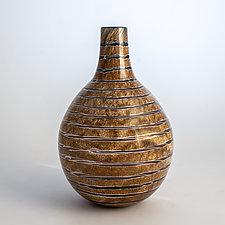 Pod Vase by Richard S. Jones (Art Glass Vase)