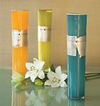 Enso Cylinder by Richard S. Jones (Art Glass Vase)
