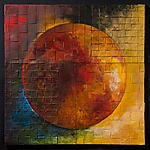 Solar Triptych by David Paul Bacharach (Metal Wall Art)