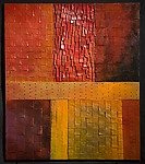 Fall Twilight by David Paul Bacharach (Metal Wall Sculpture)