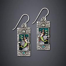 Dance of the Kelpies Earrings by Dawn Estrin (Silver Earrings)