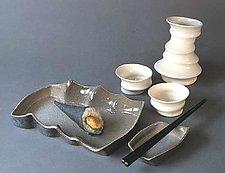 Sushi Set by Kaete Brittin Shaw (Porcelain Sushi Service)