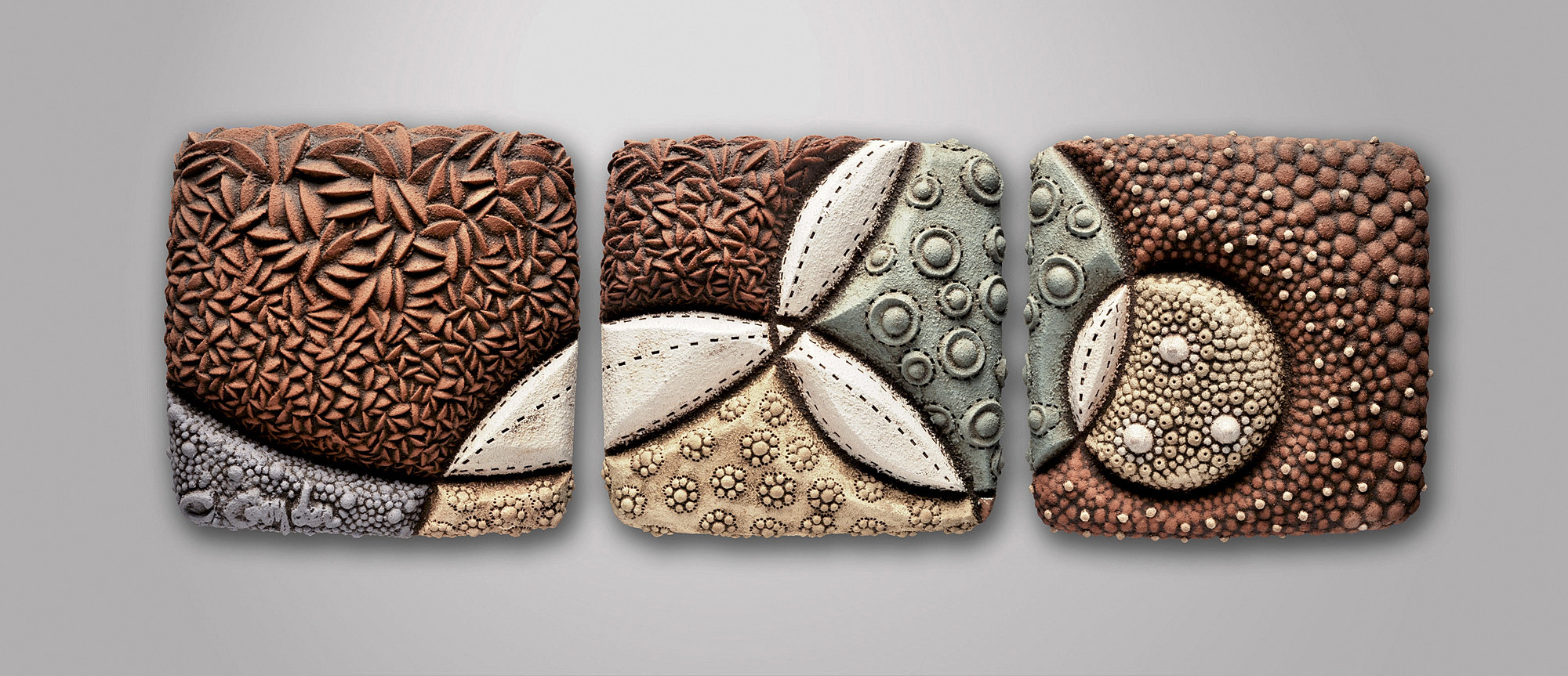Perigee By Christopher Gryder Ceramic Wall Sculpture