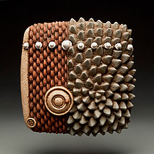 Bearing Field by Christopher Gryder (Ceramic Wall Sculpture)