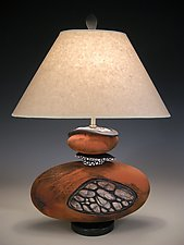 Stone Seeds by Jan Jacque (Ceramic Table Lamp)