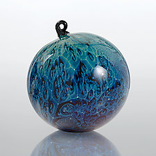 Space Odyssey by Josh Simpson (Art Glass Ornament)