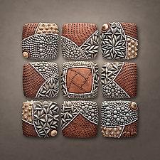 Pinwheel Pattern by Christopher Gryder (Ceramic Wall Sculpture)