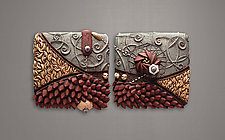 Delta Ripple by Christopher Gryder (Ceramic Wall Sculpture)