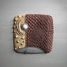 Elemental Triptych by Christopher Gryder (Ceramic Wall Sculpture)