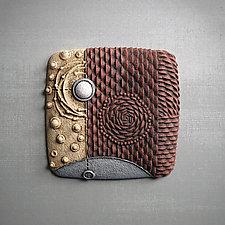 Elemental Triptych by Christopher Gryder (Ceramic Wall Sculpture)