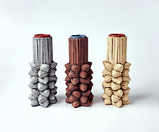 Star Stone Vase by Christopher Gryder (Ceramic Vase)
