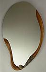 Ocean Wave by Jan Jacque (Ceramic & Wood Mirror)
