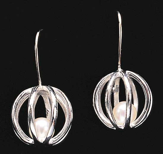 Sphere Cage Earrings