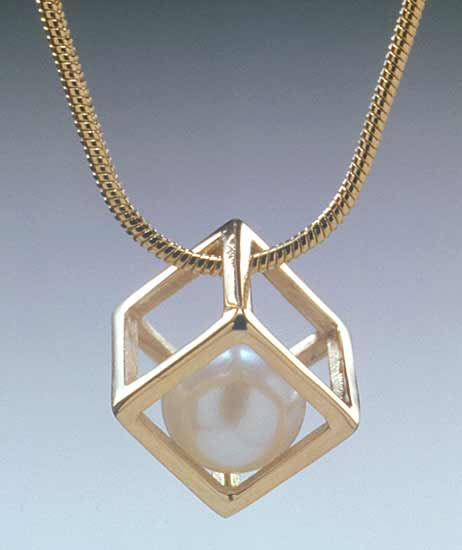Cage Cubed Pendant
