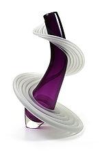 Heechee Vase by Thomas Kelly (Art Glass Vase)